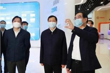 湖北省委书记应勇赴中国信科集团调研复工复产作业