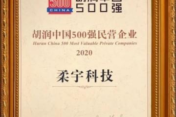 2020胡润中国500强民企出炉 柔宇再度登榜