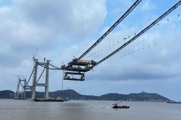两桥合建三大首创这座世界级桥梁将在年底建成
